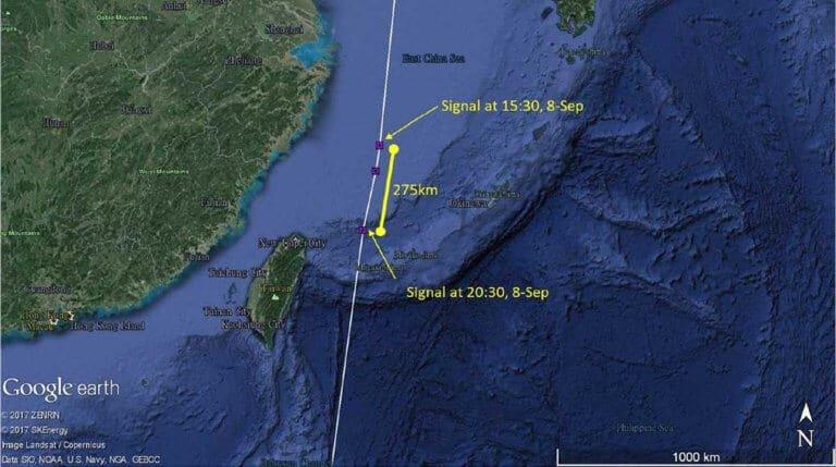 Whimbrel KS migration track