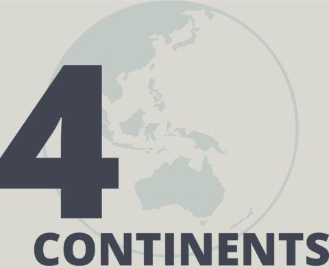 4 continents