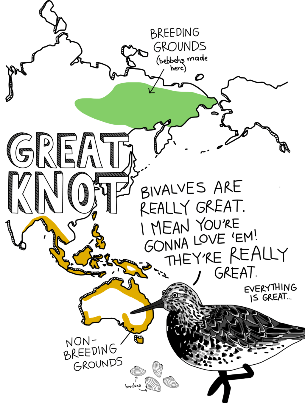 Great Knot map