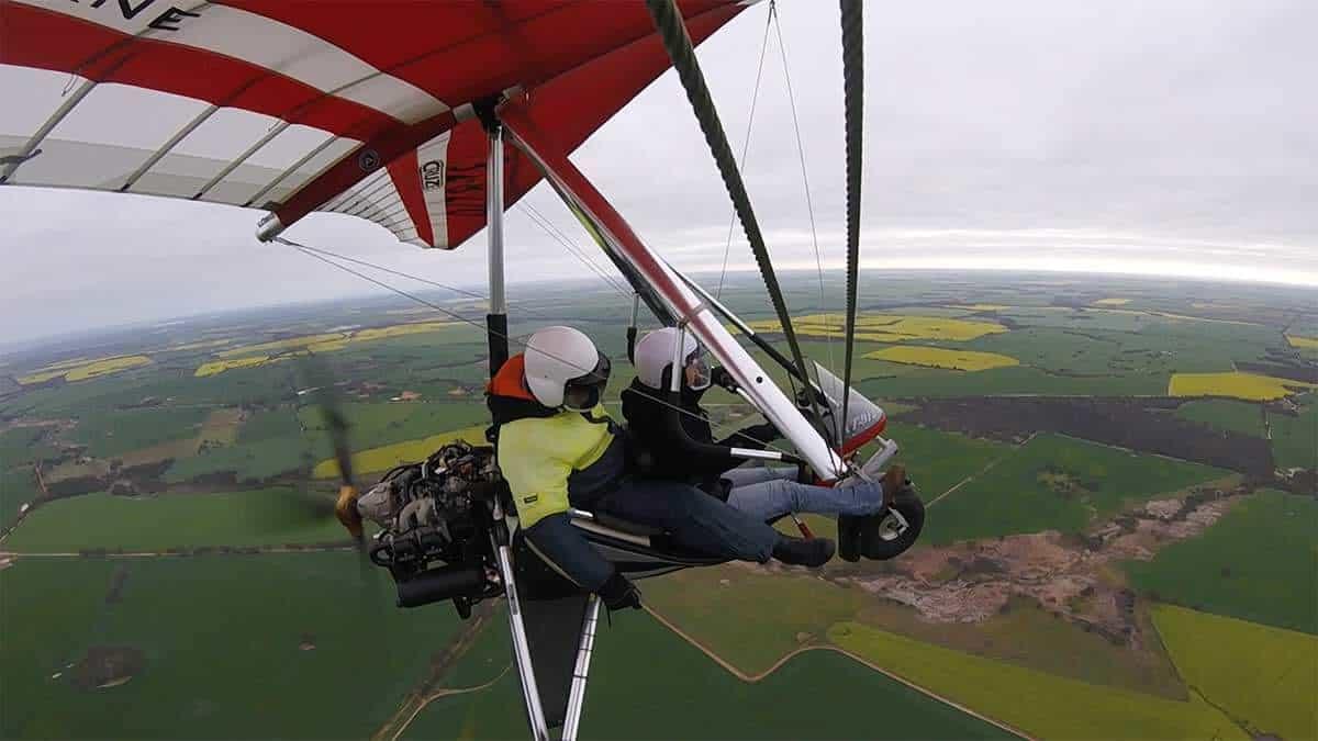 Flying at White Gum Farm