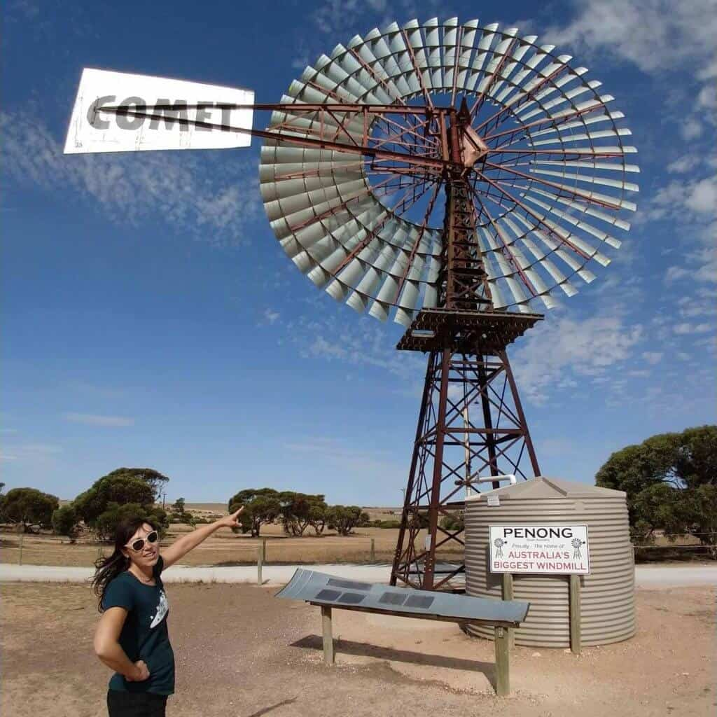 Australia's biggest windmill