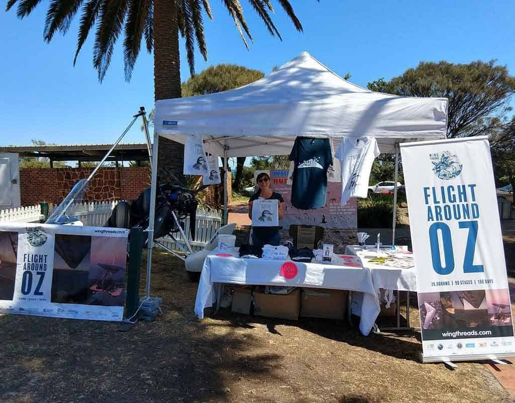 Day by the Bay stall - Mornington