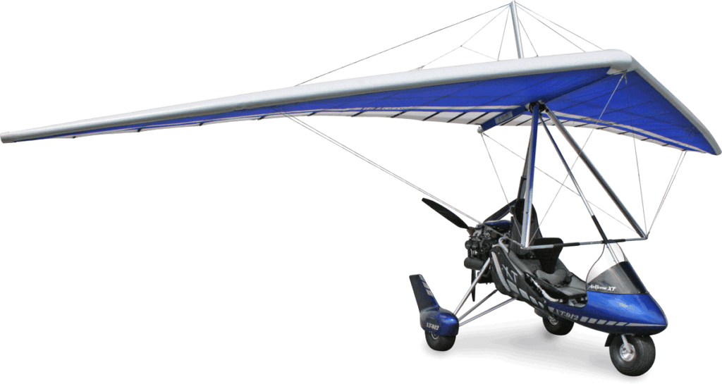 Blue XT 912 Tundra microlight